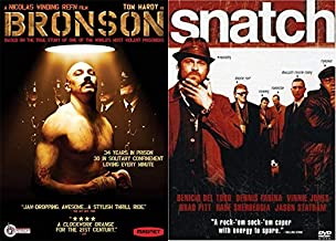 Nicolas Winding Refn and Guy Ritchie Tell Stories of Britons Underworld: Bronson & Snatch 2-DVD Bundle Denzel