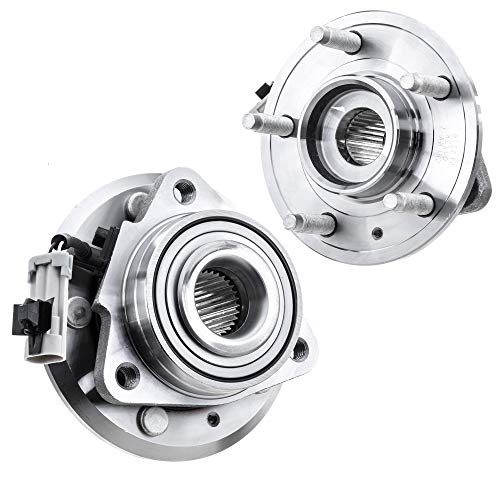 [2-Pack/Pair] 513276 FRONT Wheel Hub and Bearing Assembly for 2012-2015 Chevrolet Captiva Sport, 2007-2009 Chevrolet Equinox, 2007-2009 Pontiac Torrent, 2008-2010 Saturn Vue, 2007-2009 Suzuki XL-7