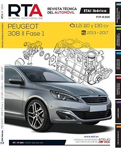 Documentación técnica RTA 284 PEUGEOT 308 II FASE 1 (2014 -2017)