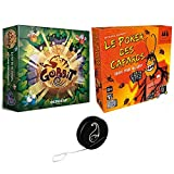 Juego de 2 juegos: Gobbit + Póker de las cucarachas + 1 Yoyo Blumie.