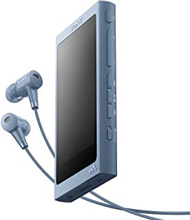 ソニー SONY ウォークマン Aシリーズ 16GB NW-A45HN : Bluetooth/microSD/ハイレゾ対応 最大39時間連続再生 ノイズキャンセリングイヤホン付属 2017年モデル ムーンリットブルー NW-A45HN L