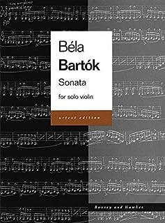 Violin Sonata Vln (Urtext) (Bart)