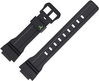 Casio Bracelet de Montre 21mm Plastique Noir STL S300H