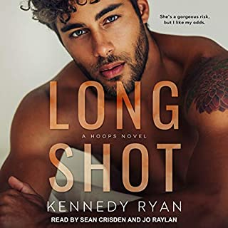 Long Shot: A HOOPS Novel     Hoops Series, Book 1              By:                                                                                                                                 Kennedy Ryan                               Narrated by:                                                                                                                                 Sean Crisden,                                                                                        Jo Raylan                      Length: 13 hrs and 10 mins     127 ratings     Overall 4.6