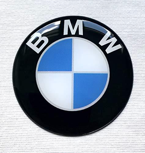 LogoEmbl 4 Rad Mitte Kappen Aufkleber 55 mm BmwLogo silikon embleme selbstklebendes nabendeckel felgenkappen