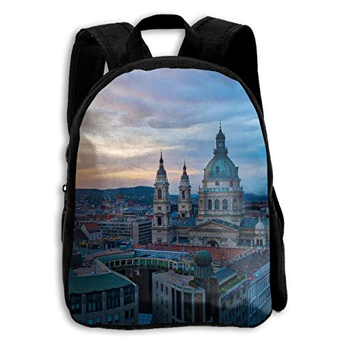 ADGBag High Architecture Look Cathedral Print A Durable Kid