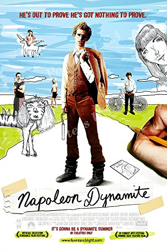 Posters USA - Napoleon Dynamite Movie Poster GLOSSY FINISH) - MOV467 (24' x 36' (61cm x 91.5cm))