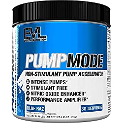 Evlution Nutrition Pump Mode the best caffeine-free preworkout for bodybuilders