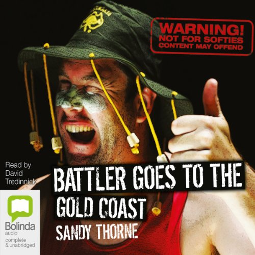 Battler Goes to the Gold Coast audiobook cover art