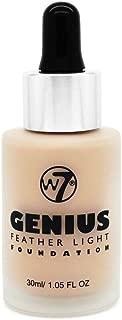 W7 Genius Feather Light Foundation Buff