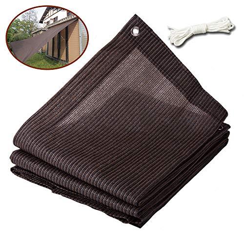 Langyinh Zonnescherm, 90% -95% van de zonblock schaduwdoek, UV-bestendige stof roosterdoek, ideaal voor achtertuin, patio, aanhanger