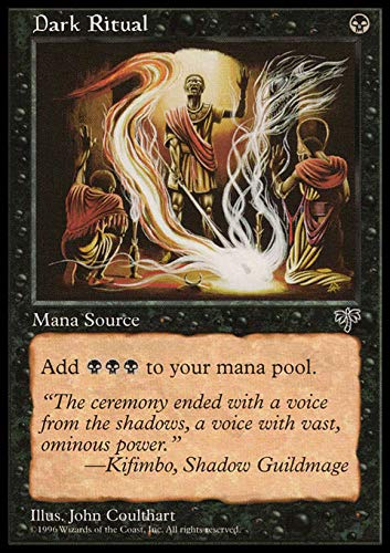 Magic The Gathering - Dark Ritual - Mirage