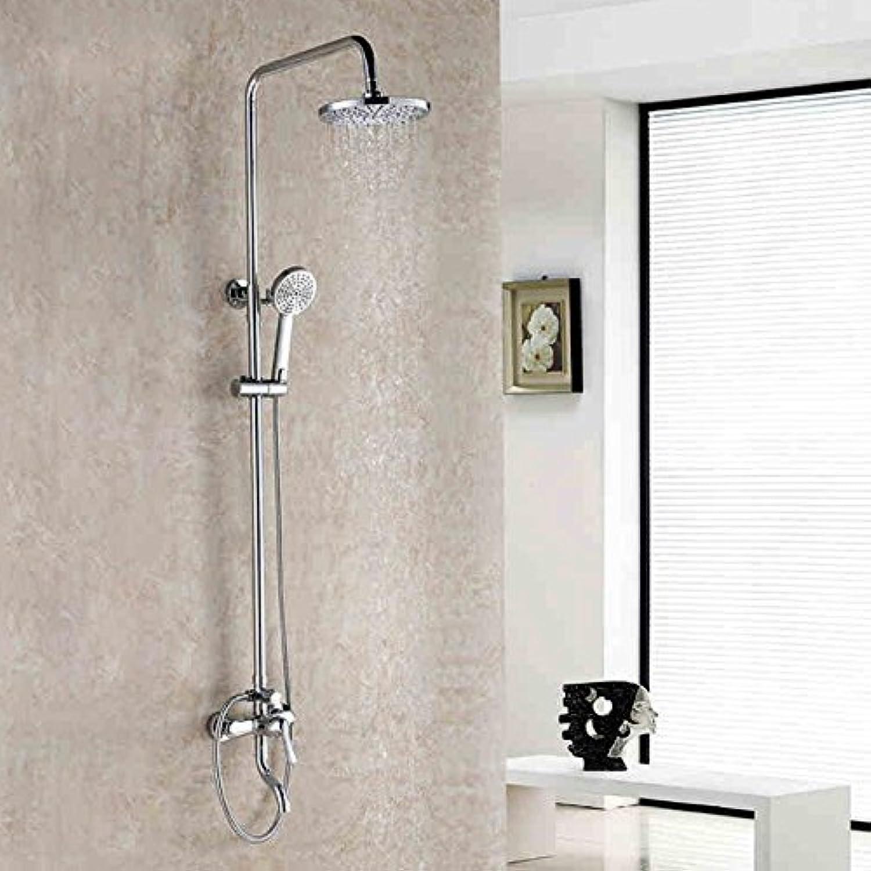 Shower shower shower head set full copper shower shower set