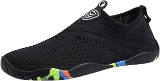 Padaleks Barefoot Quick-Dry Water Shoes Aqua Socks for Swimming Pool Surfing Yoga for Women Men Summer Beach Flip Flop