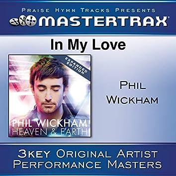 In My Love (Performance Tracks)