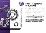 Flexi Logiciel Abonnement 6 MOIS - l'ensemble des fonctionnalités et modules complémentaires du produit - Dessin, Conception, Impression, Découpe, Détourage [Code Activation et Télécharger]