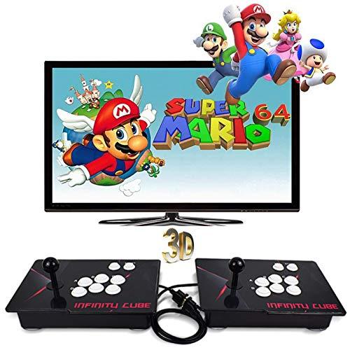 CNMJI Pandora\'s Box 3D Konsole Home Arcade 2710 Classic-Spiele Joystick Spielkonsole Kundenbezogene Schaltflächen 1280X720 Full HD Unterstützt HDMI VGA Und USB Ausgang Fur PC/TV/PS4