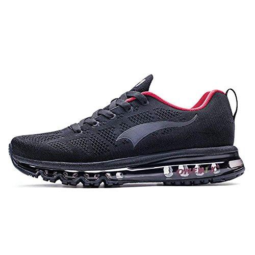 ONEMIX Schuhe Männer Luftkissen Herren Laufschuhe Sportschuhe Trainers für Männer Gym Sport Athletisch Running Sneaker - SMH 43