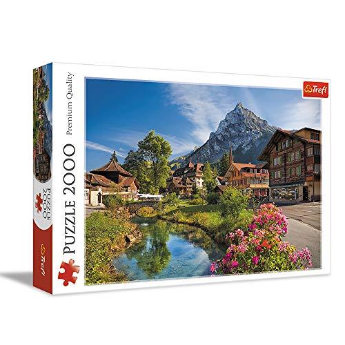 Trefl 27089 2000 Teile, Premium Quality, für Erwachsene und Kinder ab 12 Jahren Puzzle Die Alpen im Sommer, Farbig