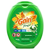 Gain flings! Liquid Laundry Detergent Pacs, Island Fresh, 96 Count