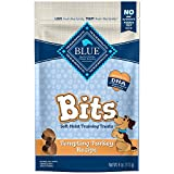 Blue Buffalo BLUE Bits Natural Soft-Moist Training Dog Treats, Turkey Recipe 4-oz bag
