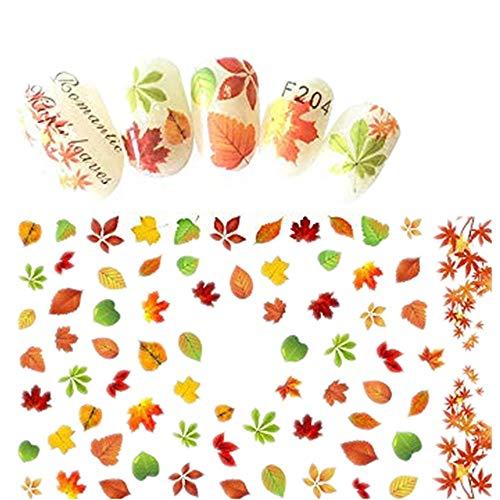 Nagel Aufkleber Sticker Nagelaufkleber Mehrfache Artnagelaufkleber SchöNe Und Elegante Nagelversorgung Nagelschmuck Blumen Kunst Nail Art Maniküre Dekoration Für Halloween Damen