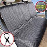 Vailge Bench Dog Seat Cover for Back Seat, 100% Waterproof Dog Car Seat Covers, Heavy-Duty & Nonslip Back Car Seat Covers for Dogs,Washable & Compatible Pet Car Seat Cover for Cars, Trucks & SUVs
