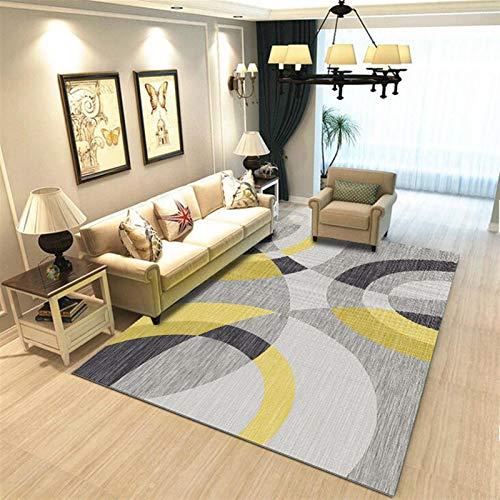 Mode Porte-clés Pendentif Tapis de tapis imprimé géométrique pour salon Chambre lavable Chambre à coucher Grande zone Tapis de plancher d