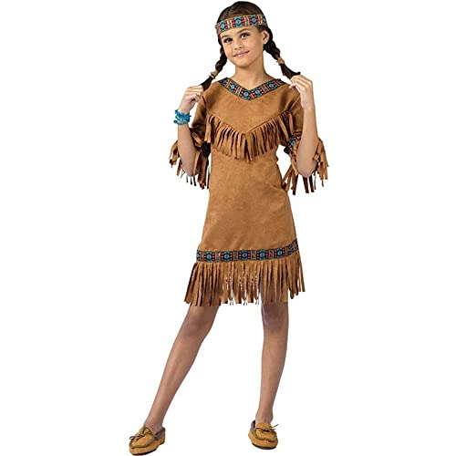 cd8e177300 American Indian Girl Child Large Size 12-14