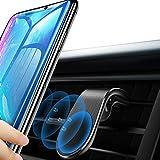 EasyULT Supporto Smartphone Magnetico per Auto, Robusto Porta Cellulare Auto Telefono Supporto Ventilazione Universale Compatibile con iPhone XS Max/XR/X, Galaxy S10/S9, Huawei, Xiaomi ed Altro-Nero