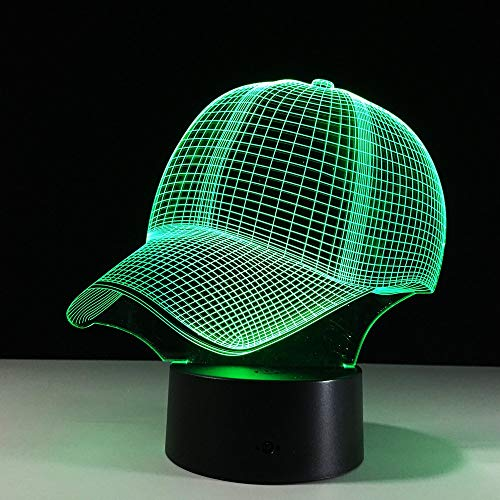 Lámpara de mesa LED de baloncesto 3D Decoración de fiesta en casa 7 variaciones de color Luz de noche 3D Iluminación para dormir junto a la cama El mejor regalo para niños