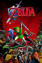 chronical collection Laminated Zelda Hyrule Battle Sign Poster 12 x 12