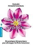 Méditation sur la perception - Dix pratiques thérapeutiques pour développer la Pleine conscience