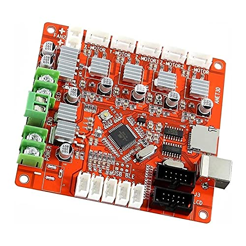 Ctzrzyt 3D Printer Control Board V1.7 A8 Accessory Module is Suitable for Ramps1.4, 2004LCD, 12864LCD Control Board