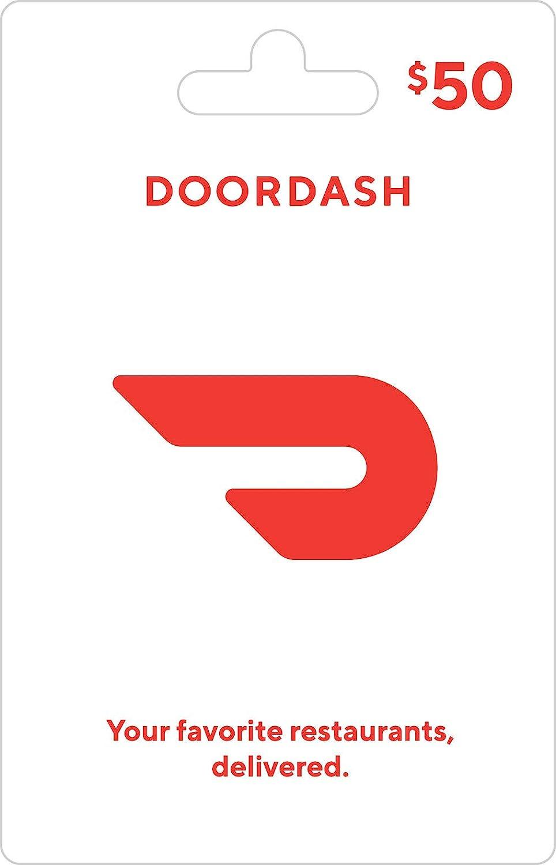Amazon Com Doordash Gift Card 50 Gift Cards