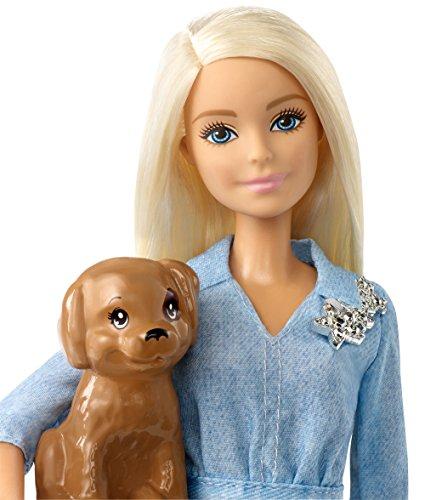 Barbie et Ken Coffret Cadeau Ensemble avec Chiot - 2
