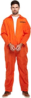 Prisoner Fancy Dress Costume (Orange) by Blue Banana