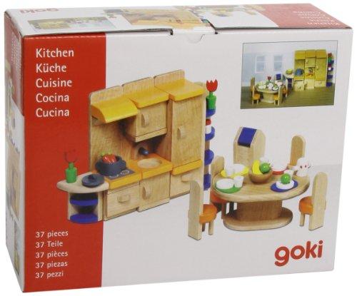 Puppenhausmöbel Küche (37-teilig)
