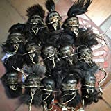 Daprofe Shrunken Head Includes One(1) 4 Inch Black Haired Head Similar to Those Shown in Photo