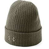 Image of Under Armour Men's Tactical Stealth Beanie 2.0 , Marine Od Green (390)/Marine Od Green , One Size Fits All