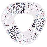 90 pegatinas para uñas, pegatinas para decoración de...
