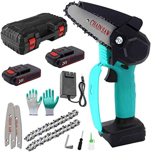 SHENGZHI Mini Cordless Electric Chainsaw...