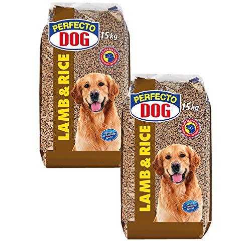 Hunde Trockenfutter 30 kg Lamm & Reis Hundefutter Tierbedarf Hauptfutter