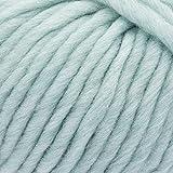 ggh Husky - Schurwolle Mischung - 50g Wolle zum Stricken oder Häkeln - Dicke Wolle - Farbe 047 - Mint