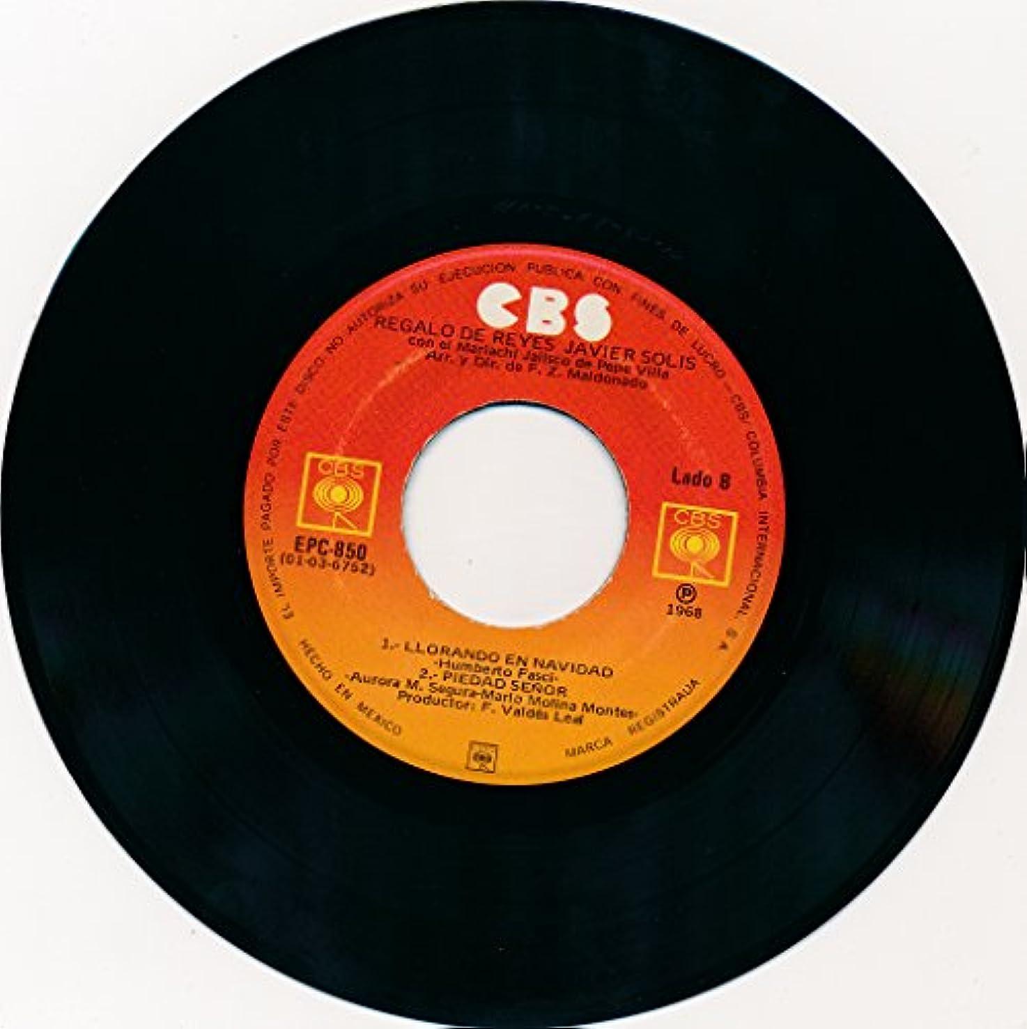 Regalo De Reyes; Padre Mio; Llorando En Navidad & Piedad Senor (1968 CBS 45 rpm)