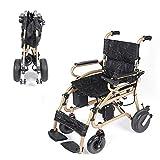 AA100 Silla de Ruedas eléctrica portátil para Personas Mayores con discapacidad Scooter Plegable de Cuatro Ruedas Inteligente Silla de Ruedas Silla de Ruedas 12A batería de Litio