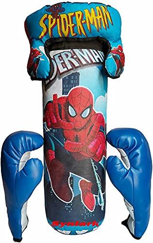 Minor Boxing Kit with Punching Bag for Kids Banana Bag (Medium, 30 cm) Boxing Kit n3 -N24
