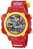 Nickelodeon Kids' PAW5003 Digital Display Quartz Red Watch