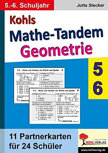 Kohls Mathe-Tandem /Geoemtrie 5.-6. Schuljahr: Partnerrechnen im 5.-6. Schuljahr