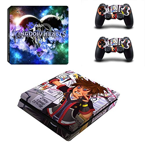 TSWEET Ps4 Slim Skin Sticker Vinilo para Playstation 4 Consola y Controladores Ps4 Slim Skin Stickers Calcomanía